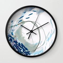 Inner Tides Wall Clock