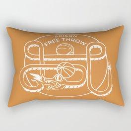 POISON FREE THROW Rectangular Pillow