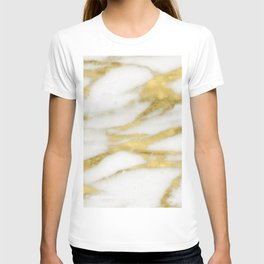 Bari golden marble T-shirt