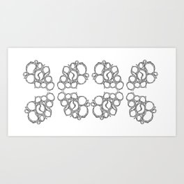 Honeycombs 2 Art Print