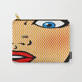 half face Carry-All Pouch