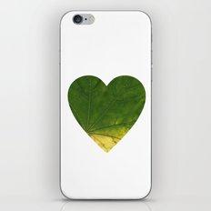 I LOVE PLANTS. iPhone & iPod Skin
