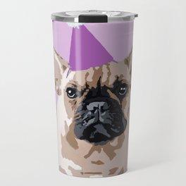 Milo pink on pink Travel Mug