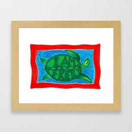 I AM FREE Framed Art Print