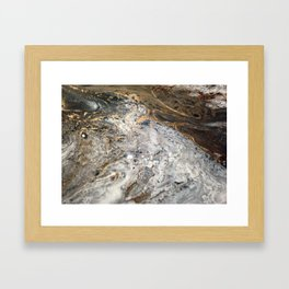 Gold Mine Framed Art Print