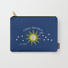 The Conch Republic Flag Carry-All Pouch