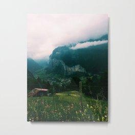 Jungfrau, Switzerland Metal Print