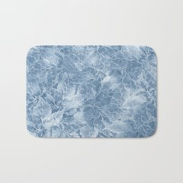 Frozen Leaves 7 Bath Mat