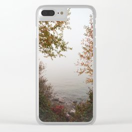 Silver Silence Clear iPhone Case