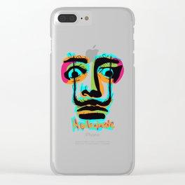 Hallucinate Dali Clear iPhone Case