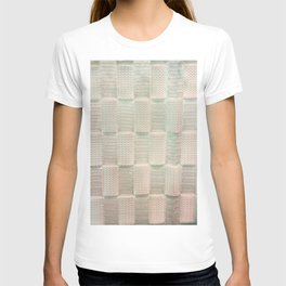 Interlace White Satin T-shirt
