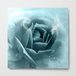 Beautiful blue roses Metal Print