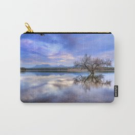 """""""Magic tree II"""" Magic reflections at the lake. Carry-All Pouch"""