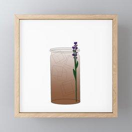 London Fog Tea Latte Framed Mini Art Print