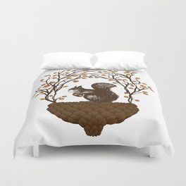 Once upon an Acorn Duvet Cover