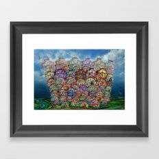 Big City 2013 Framed Art Print