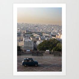 paris mornings Art Print