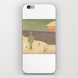 La respuesta- The answer iPhone Skin