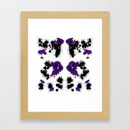 Rorsc 5 Framed Art Print