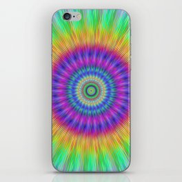 Colorful explosion iPhone Skin