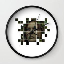 Collage The Lobster (Lea Seydoux) - Yorgos Lanthimos Wall Clock