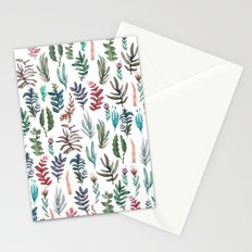water color garden Stationery Cards