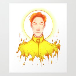 Emperor of the Sun Art Print