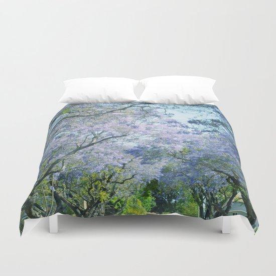 Jacaranda Canopy Duvet Cover