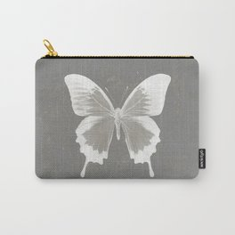 Butterfly on grunge surface Carry-All Pouch