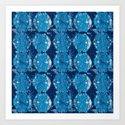 Cyanotype Diamonds by ashleyrodriguezreed
