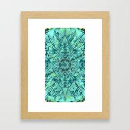 Holy Water Window Framed Art Print
