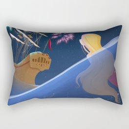 The little mermaid Rectangular Pillow