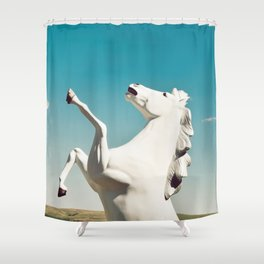 Guardian of the Plains Shower Curtain