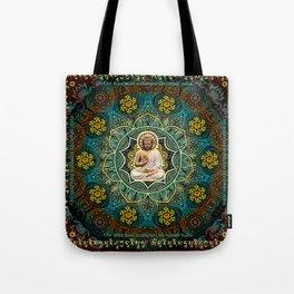 Shakyamuni Buddha - Enlightenment, Peace and Happiness Tote Bag