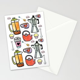 Coffee + Tea Stationery Cards
