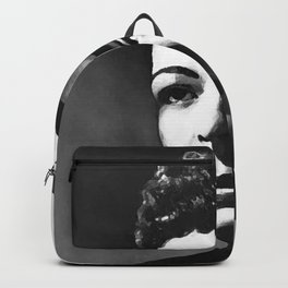 painting of Billie Holiday Backpack