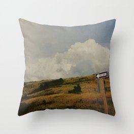 One Way Out Throw Pillow
