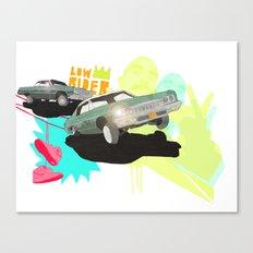 Low Rider Canvas Print