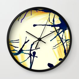Ink border Wall Clock