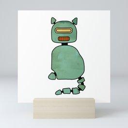 RoboCat – Limited Edition Mini Art Print