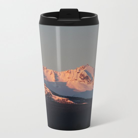 Alpenglow Metal Travel Mug