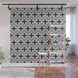 Funky Geo Modern / Grey Geometric Modern Pattern Wall Mural