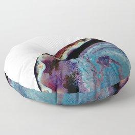Crystal Wave Floor Pillow