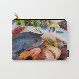 Various Seafood Carry-All Pouch