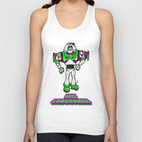 buzz lightyear Tank Tops featuring Buzz Longgoner...  The spookier version of Pixar's Buzz Lightyear from Toy Story by beetoons