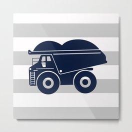 dump truck Metal Print