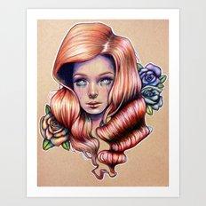 Opium Dreams Art Print