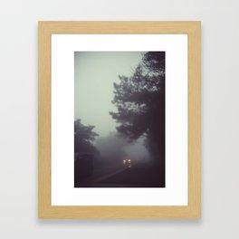 headlight Framed Art Print
