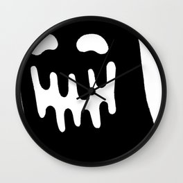 Dripping Ghost Wall Clock