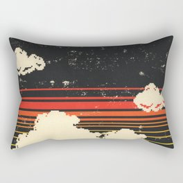 Clouds in the Sky at Night Rectangular Pillow